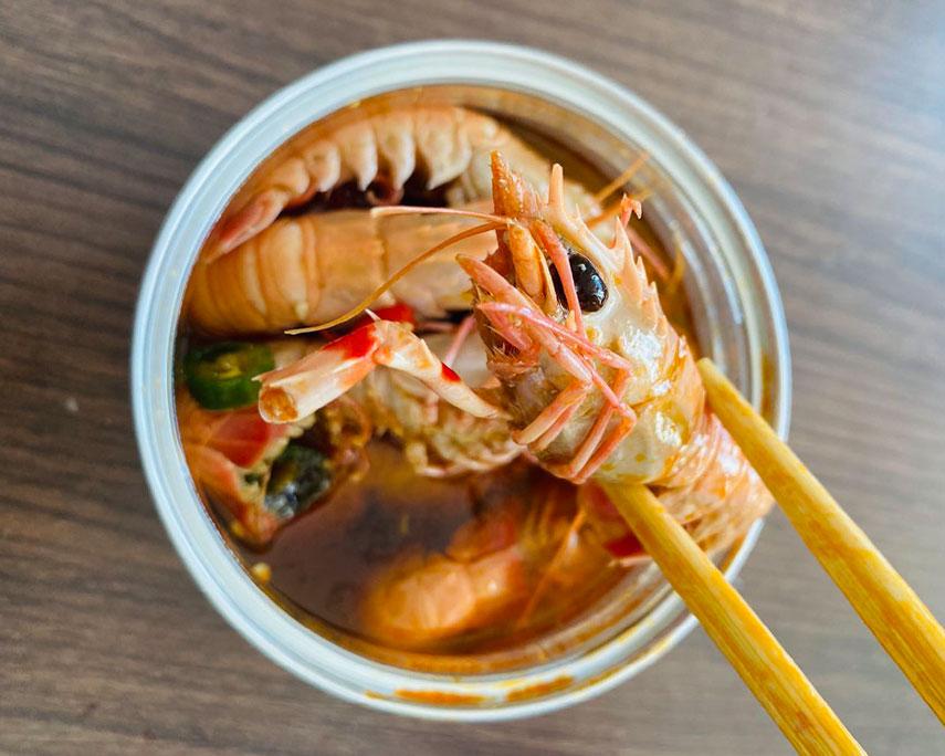 威海麻辣小海鲜-海龙虾