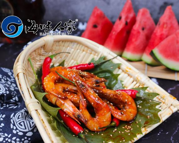 威海麻辣小海鲜—芙蓉虾