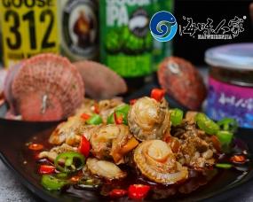 威海麻辣小海鲜-扇贝肉